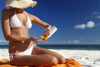 playa, bronceado, cremas protectoras solares ecológicas