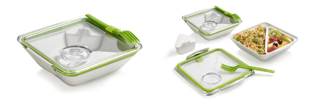 Fiambrera ecológica Bento Box Appetit Lima de Black+Blum