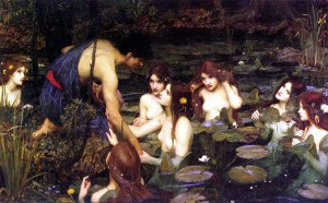 Autor - John William Waterhouse (1896). Manchester Art Gallery. Manchester Fuente imagen: Wikimmedia