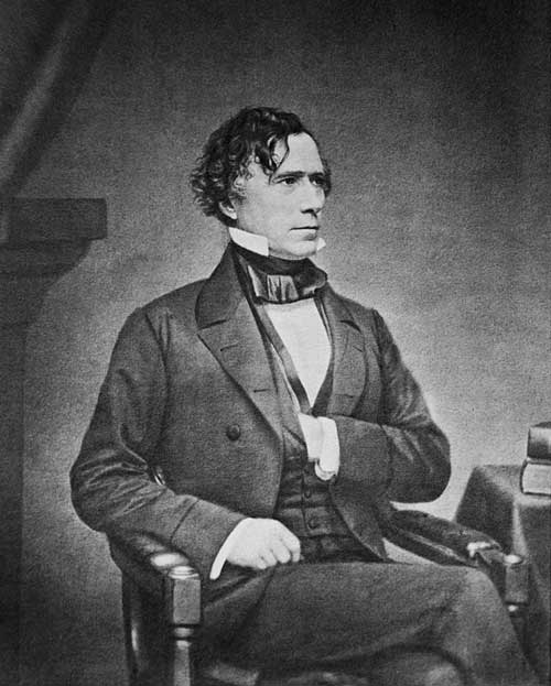 Retrato-de-Franklin-Pierce-(1804–1869)-por-Mathew-Brady
