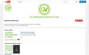 canal youtube queremos verde