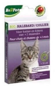 collar ecologico sin insecticida para gatos