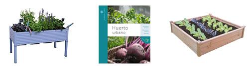 Consigue en Amazon lo que necesitas para crear tu huerto urbano