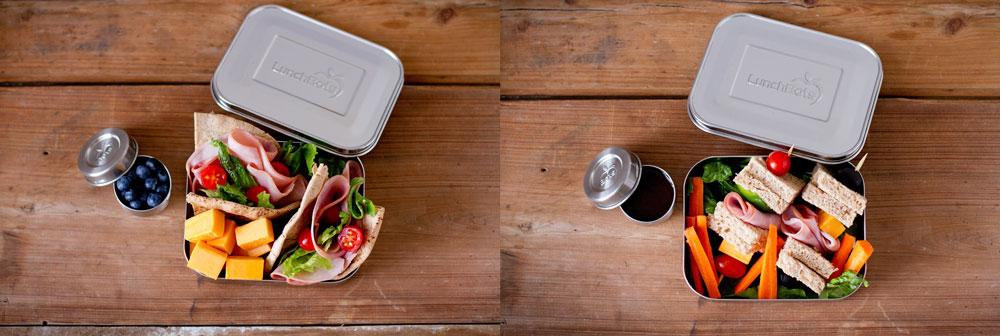 Fiambrera ecológica de acero inoxidable de Lunchbots Uno