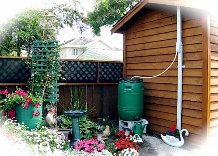 Recogiendo agua de la lluvia - Recoger agua lluvia ...
