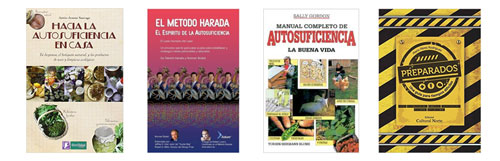Libros de autosuficiencia en Amazon