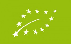 Logotipo de la producción ecológica en la Unión Europea