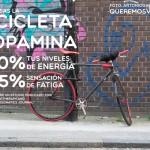 Aumenta tu dopamina montando en bicicleta