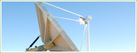Plato solar para generar agua caliente
