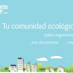 Portada de la red social de consumo ecológico y vida sostenible de Queremos Verde