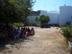 Actividad en La huerta del Rey Moro. Una huerta urbana en Sevilla.