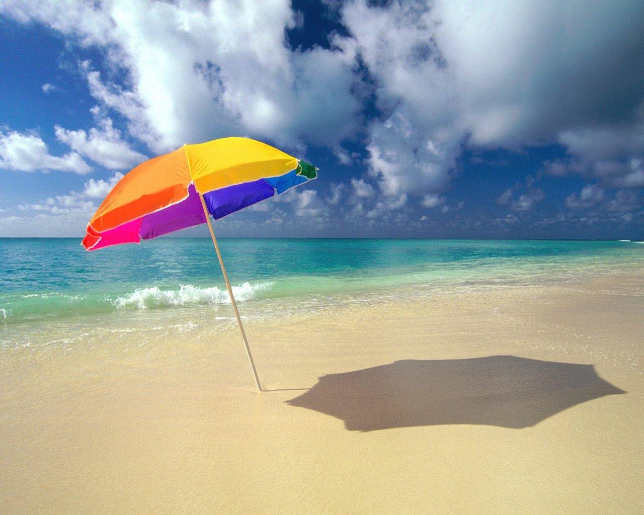 Tu propia sombra con sombrillas ecol gicas - Sombrilla playa ...