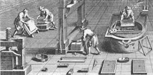 Taller tradicional en el que los artesanos sometían sus manos a un continuo trabajo y deterioro